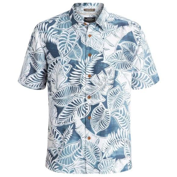 e105133d Quiksilver Shirts | Waterman Hawaiian Shirt Xxl | Poshmark